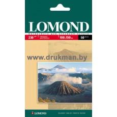 Фотобумага Lomond глянцевая односторонняя  10х15, 230 г/м, 50 л. (0102035)
