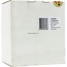 Фотобумага Lomond (Semi-Glossy) полуглянцевая односторонняя 10х15, 260 г/м, 500 л. (1103303)