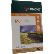 Фотобумага Lomond матовая двусторонняя A4, 100 г/м, 100 л. (0102002)