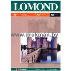 Фотобумага Lomond матовая односторонняя  A4, 90 г/м, 100 л. (0102001)