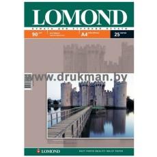 Фотобумага Lomond матовая односторонняя A4, 90 г/м, 25 л. (0102029)