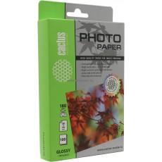 Фотобумага Cactus 10x15, 180 г/м2, 100 л., односторонняя глянцевая ЭКО (CS-GA6180100E)