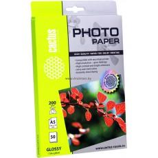 Фотобумага Cactus 10x15, 200 г/м2, 50 л., односторонняя глянцевая ЭКО (CS-GA620050E)