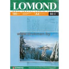Фотобумага Lomond матовая односторонняя A4, 180 г/м, 50 л. (0102014)