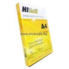 Бумага Hi-IMAGE матовая двусторонняя для лазерной печати A4, 160 г/м2, 100 л.