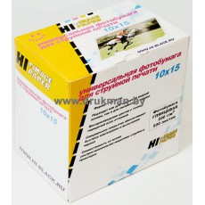 Фотобумага Hi-IMAG глянцевая односторонняя 10x15, 230 г/м, 500 л.