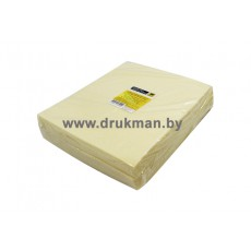 Салфетки Hi-Black безворсовые Stretch для сбора и удаления тонера 100шт/уп, цвет желтый