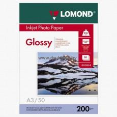 Фотобумага Lomond глянцевая односторонняя A3, 200 г/м, 50 л. (0102024)