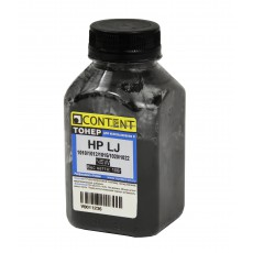 Тонер Content для HP LJ 1010/1012/1015/1020/1022, 100 г., банка
