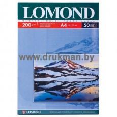 Фотобумага Lomond глянцевая односторонняя  A4, 200 г/м, 50 л. (0102020)