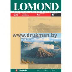 Фотобумага Lomond глянцевая односторонняя  A4, 230 г/м, 50 л. (0102022)