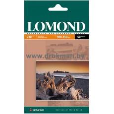 Фотобумага Lomond матовая односторонняя  10х15, 230 г/м, 50 л. (0102034)