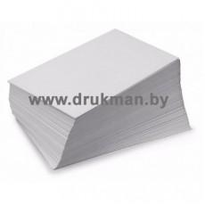 Самоклеющаяся бумага UPM Raflatac каландрированная (без покрытия) с просечками SRA3, 90 г/м2 (полистно)