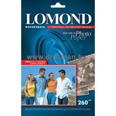 Фотобумага Lomond Semi-Glossy односторонняя 10х15, 260 г/м, 20 л. (1103302)