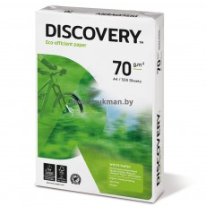 "Бумага офисная Discovery ""70"" А4, 70 г/м2, 500 л/п. Класс ""С+"""